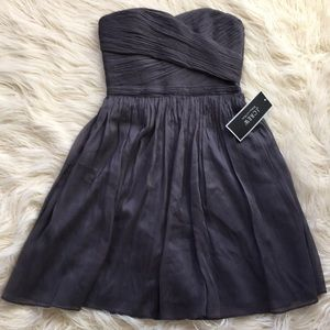 NWT J.Crew Silk Strapless Dress Size 2